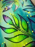 PaperArtsy - Stencil - Tracy Scott #226